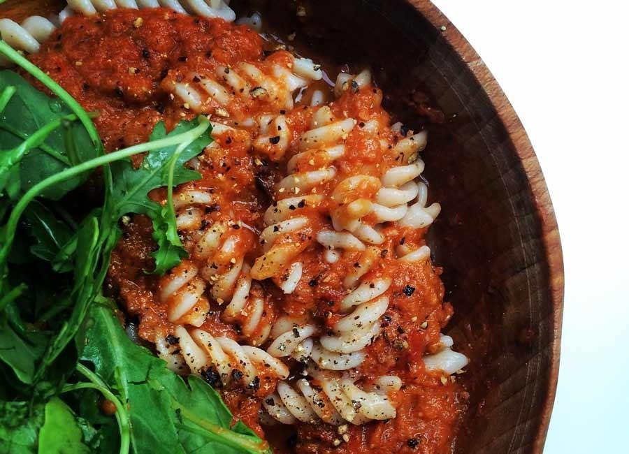 sardine pasta sauce by Catherine Arnold Nutrition