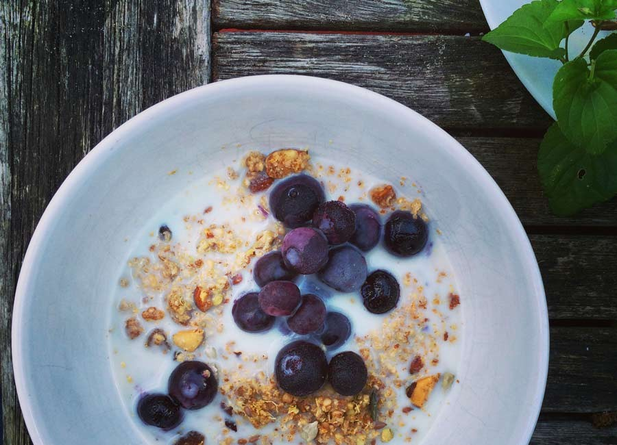Gingerbread Quinoa Granola by Catherine Arnold Nutrition